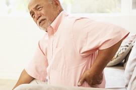 腰の痛みのイメージ